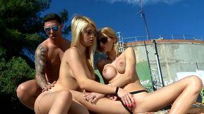 Trio en extérieur