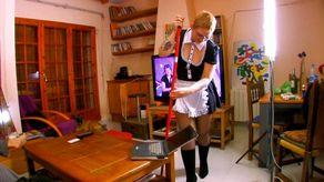 La ménagère se fait ramoner les fesses